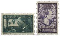Frankrig 1937 - YT 337/338 - Postfrisk