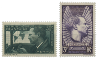 France 1937 - YT 337/338 - Neuf