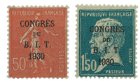 Frankrig 1930 - YT 264/65 - Ubrugt