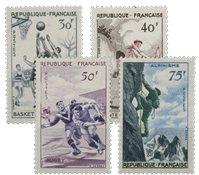 France - YT 1072-75 - Neuf