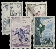 Frankrig - YT 1072-75 - Postfrisk