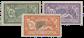 Frankrig 1907 - YT 143/145 - Ubrugt