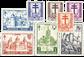 Belgien 1951 - OBP 868-75 - Ubrugt