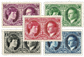 Luxemborg 1927 - Ubrugt - Michel 182-86
