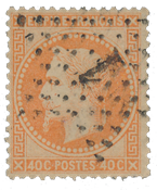 France 1863 - YT 31 - Cancelled