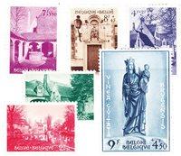 Belgique 1954 - Neuf avec charnière - OBP 946-51