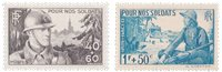 Frankrig 1940 - YT 451/52 - Postfrisk