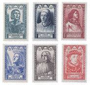 France 1946 - YT 765/770 - Neuf