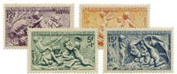 Frankrig 1949 - Postfrisk - YT 859/62