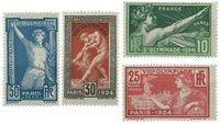 France 1924 - YT 183-86 - Neuf avec charnière