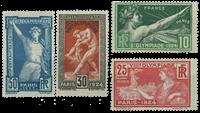 Frankrig 1924 - YT 183-86 - Ubrugt