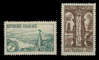 Frankrig 1935 - YT 301-02 - Ubrugt