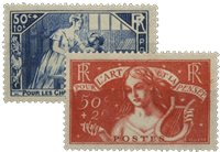 Frankrig 1935 - YT 307-08 - Ubrugt
