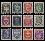 Frankrig 1942 - YT 553-64 - Ubrugt