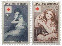 France 1954 - YT 1006-07 - Neuf avec charnière