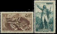 Frankrig 1936 - YT 314/315 - Ubrugt