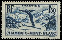 France 1937 - YT 334 - Neuf avec charnière