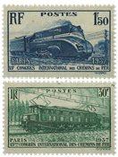 France 1937 - YT 339-40 - Neuf avec charnière