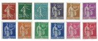 Frankrig 1937 - YT 360/371 - Ubrugt