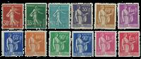 France 1937 - YT 360/371 - Unused