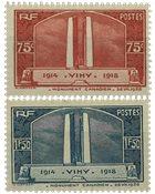 Frankrig 1936 - YT 316/317 - Ubrugt