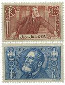 Frankrig 1936 - YT 318/319 - Ubrugt