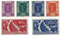 France 1936 - YT 322-27 - Neuf avec charnière