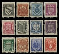 France 1941 - YT 526-37 - Neuf avec charnière