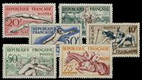 Frankrig 1953 - YT 960/965 - Ubrugt