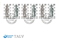 Faroe Islands - Official FDC with chess