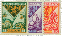 Netherlands 1925 - NVPH R71-R73 - Unused