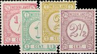 Holland 1894 - NVPH 30b-33a - Ubrugt