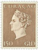 Curacao - Koningin Wilhelmina Hartz (nr. 195, ongebruikt)