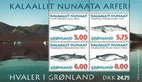 Groenland - 1997. Mammifères marins II - Bloc-feuillet