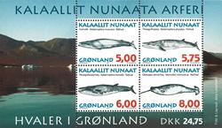 Grønland - 1997. Hvaler i Grønland - Miniark