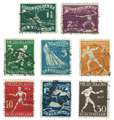 Netherlands 1928 - NVPH 212-19 - Cancelled