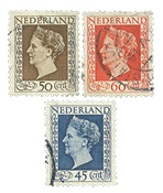 Holland - NVPH 487-89 - Stemplet