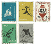 Netherlands 1956 - NVPH 676-80 - Cancelled