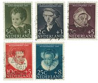 Holland 1956 - NVPH 683-87 - Stemplet