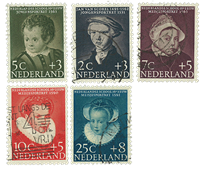 Netherlands 1956 - NVPH 683-87 - Cancelled