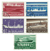 Netherlands 1957 - NVPH 688-92 - Cancelled