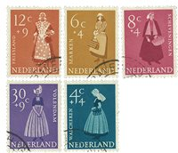 Holland 1958 - NVPH 707-11 - Stemplet