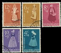 Holland 1958 - NVPH 707-11 - Stemplet
