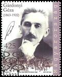 Hongrie - Geza Gardonyi - Timbre oblitéré