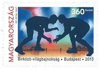 Ungarn - VM i brydning - Postfrisk frimærke