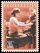 Ungarn - Pianisten Annie Fischer - Postfrisk frimærke