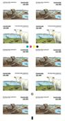 Denmark - Wadden Sea National Park - Mint strip 10v