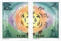 Grønland - Fangerliv II - Postfrisk sæt 2v