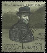 Grønland Ekspeditioner VII 2009 - Stemplet frimærke