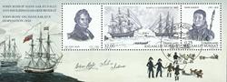 Grønland Ekspeditioner 2010 - Stemplet miniark